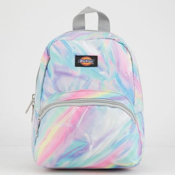98fc955675a Pastel Watercolor Mini Rave Festival Mini Backpack